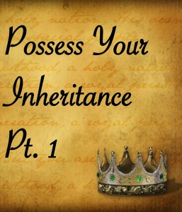 IT'S TIME TO POSSESS YOUR INHERITANCE (1/4/15)